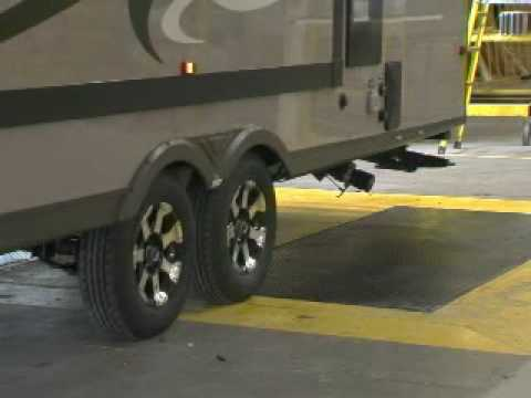 EverGeen RV light weight RV's and 5th Wheels save you money.