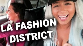 ♥ GUIDE TO THE LA FASHION DISTRICT! ♥