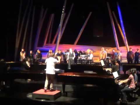 2013 Sampung Daliri Atbp. (10-Piano Concert) Dry Run - 20 Pianists + Popera Chorus