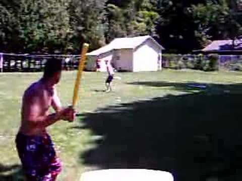 Insane Wiffle Ball Pitch