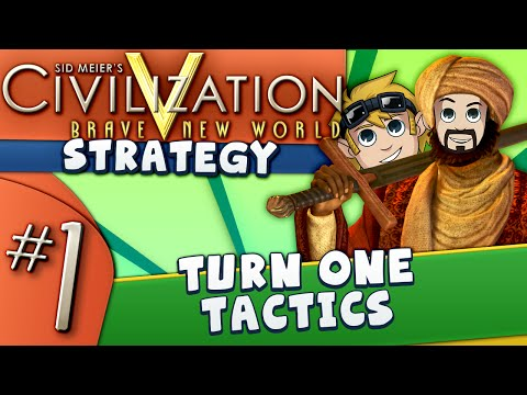 Civ5 Strategy Guide #1: Turn One Tactics