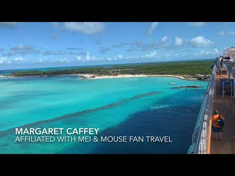 Arrival at Disney Cruise Line's Private Island Castaway Cay