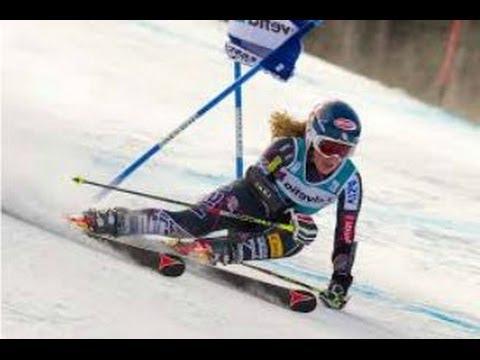 Mikaela Shiffrin Gold medal win Sochi Olympics 2014