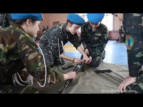 Ukraine is training its children for war