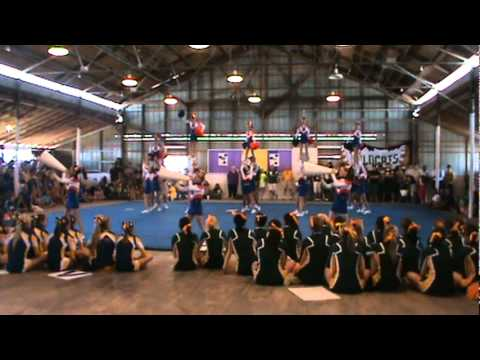 Westside Junior High School Cheerleaders - 2010 Parish Competition