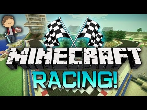 Minecraft: PARKOUR RACING w/Mitch & Jerome!