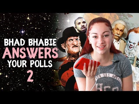 BHAD BHABIE reacts to your poll questions part 2 | Danielle Bregoli thumbnail