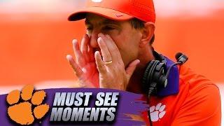 Clemson Football: Dabo Swinney Fiery Halftime Speech Against Miami