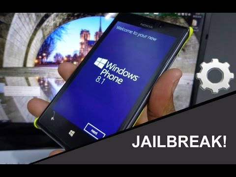 Jailbreak Nokia Lumia 520.620.710.720.800.820.920 Windows Phone 7 & 8