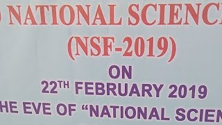 National Science Fair project
