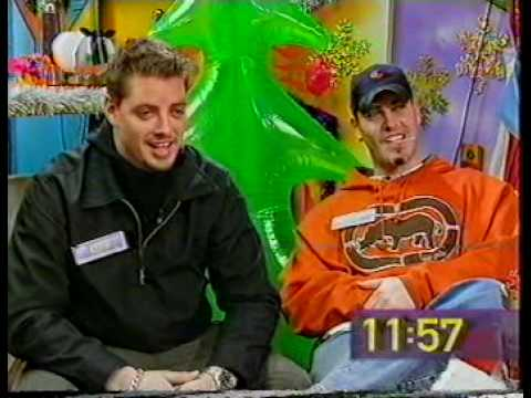 Boyzone - Big Breakfast Keith Duffy and Shane Lynch