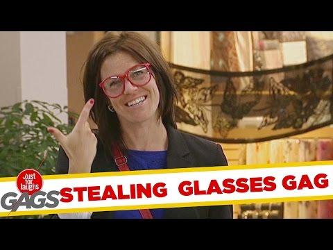 Sneaky Glasses Swap Prank