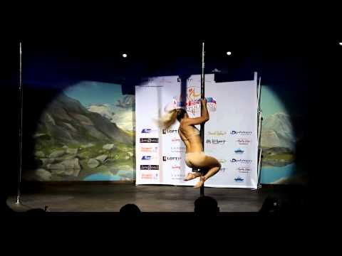 Pole Dance World Championships 2010 - Oona Kivelä