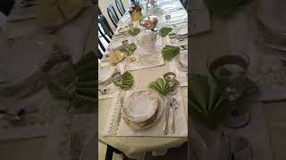 My first table set up first day of ramadan may 06 2019 Allah bless us much love  😍 much tired 😴