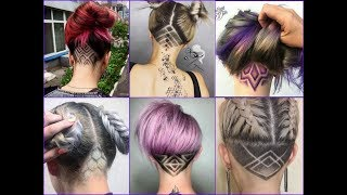 Top 35 Best Nape Undercut Design Ideas 2018 - Nape Shave Haircut for Women