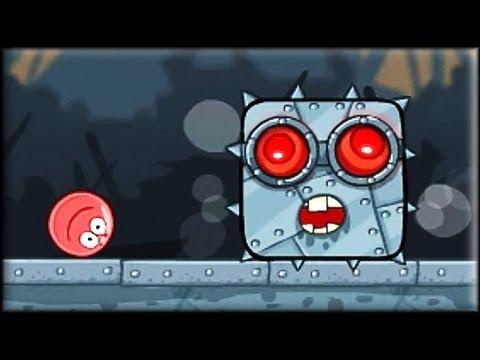 Red Ball 4: Volume 3 - Game Walkthrough (all 1-15 lvl + Boss fight)