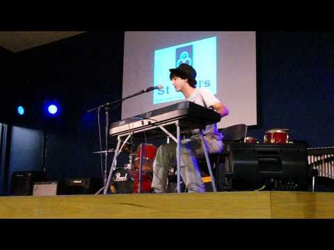 Rockin&#039; The Suburbs - Ben Folds, School Performance Piano + Voice Cover