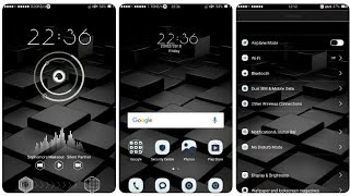 OPPO (ColorOS) Theme : Black & White New Edition