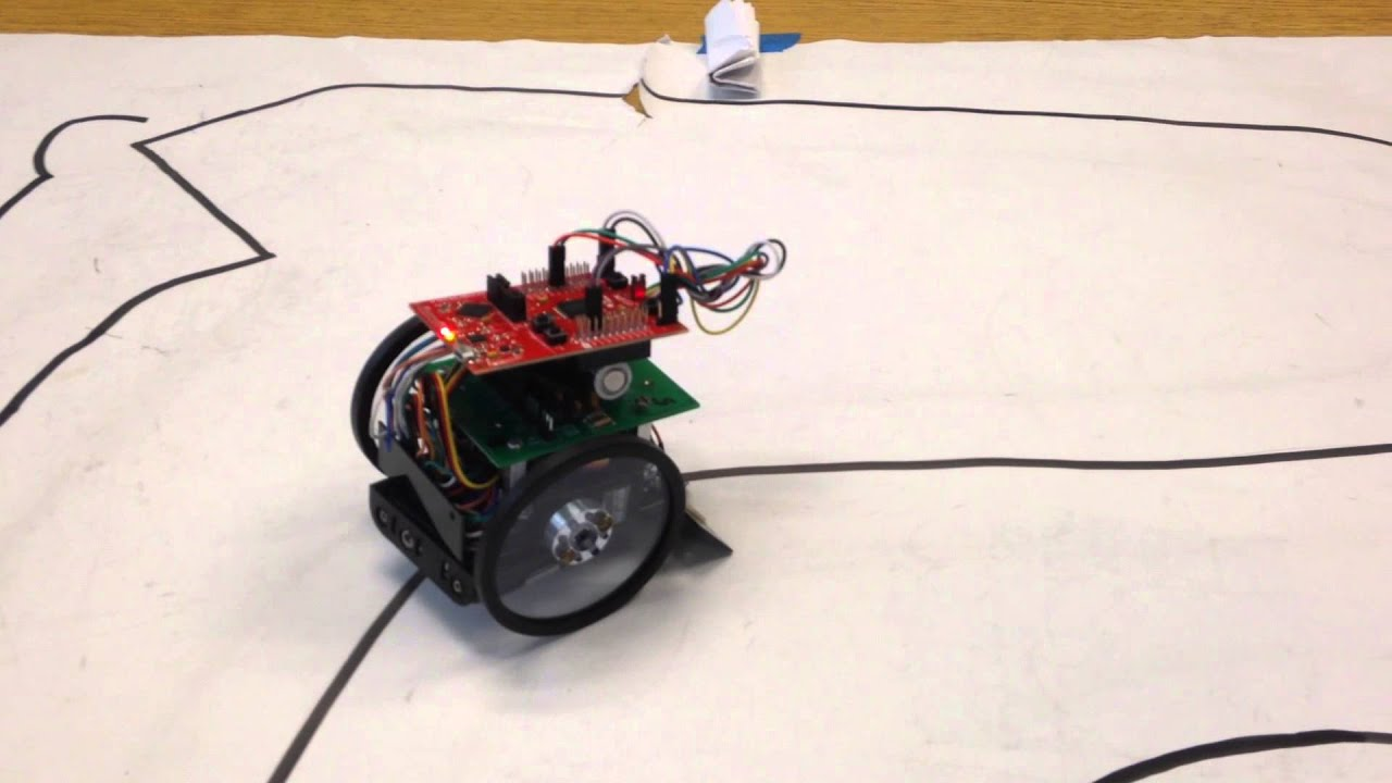 line follower robot Here is a simple line follower robot without using microcontrollers a simple circuit made by using lm358 op-amp and other basic electronic components.