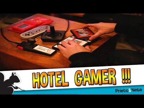 Se abre ...EL PRIMER HOTEL GAMER !!!