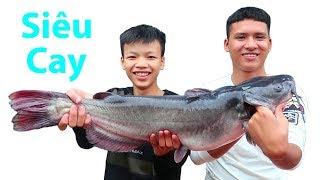 Hữu Bộ | Cá Lăng Nướng Siêu Cay | Grilled Fish