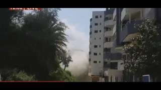 Shembet ndërtesa 5 katëshe në Vlorë, u përdorën 15 kilogramë eksploziv