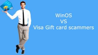 Visa gift card scammers lose it - 'WE WILL CHARGE YOUR CARD'