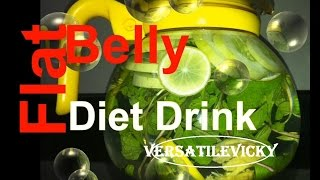 Flat Belly Diet Drink 2 | Get Flat Belly in 5 Days | No Diet - No Exercise