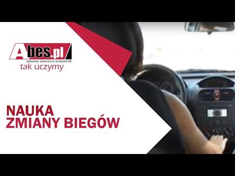 Pierwsza Lekcja Nauki Biegów W OSK Abes W Częstochowie.wmv