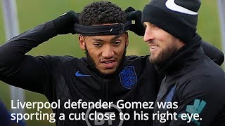 Sterling & Gomez Train Alongside Each Other After St George's Park Scrap