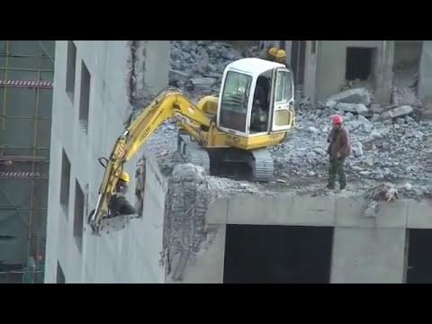 que peligro del excavadoras