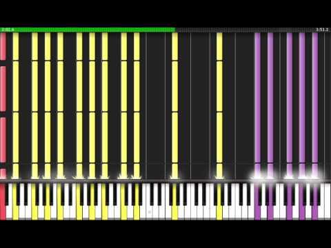 [Black MIDI] Synthesia - Touhou 7: Marisa Stole the Precious Thing black ver. 2