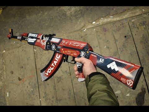 Как сделать АК-47 КРОВАВЫЙ СПОРТ   BLOOD SPORT из CS:GO DIY