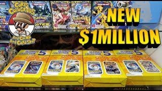 Most EXPENSIVE Pokemon Card Box I Ever Paid For! New Ultimate Collection 5 Mystery Box!!