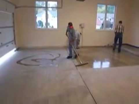 Garage Floor Coating - YouTube
