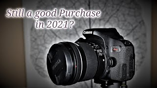 Canon Rebel EOS T7i/800D in 2021