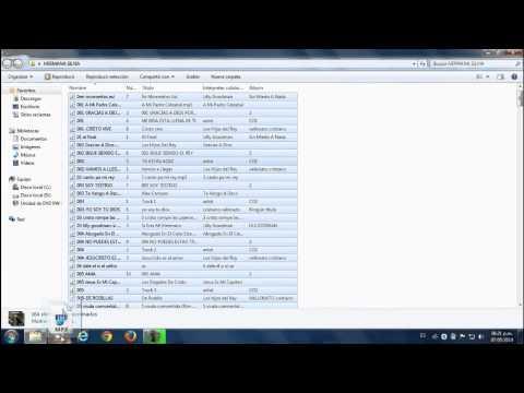 Como grabar CD mp3 - grabar CD de audio con windows media player