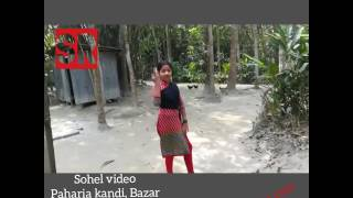 Bangla cute little girl dance with Dana kata pori song... Powered by Sohel Rana.