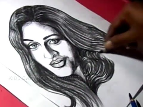 How to Draw Femina MISS INDIA ADITI ARYA Drawing