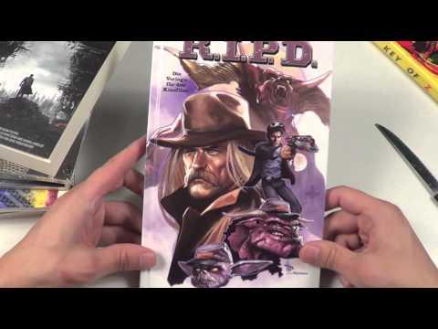 Comic Update # 1 (u.a. Mit Key Of Z star Trek  Avatar) |unboxing german[hd]| video