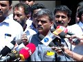 PRESS MEET by M panel conductors after meeting with LDF convener