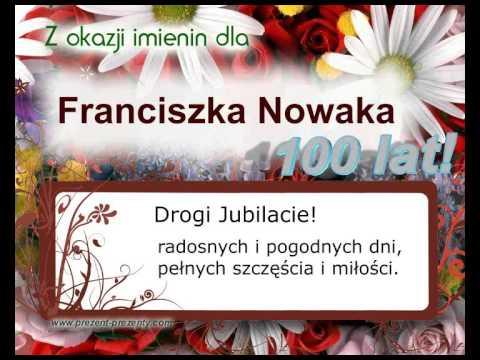 Piosenka Z Imieniem Franciszek Na Imieniny