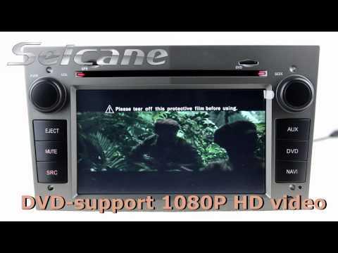 OEM 2004-2009 OPEL Astra car stereo GPS sat nav dvd radio bluetooth support 3-zone POP digital TV