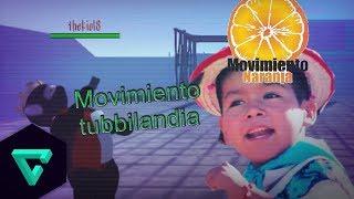 thekio18 baila movimiento naranja en slendytubbies 3 | bailetubbie