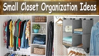 Small Closet Organization Ideas  (Using Target Organizers) Home Storage And Organization Ideas
