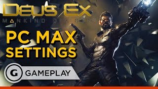 Side Mission Negotiations - Deus Ex: Mankind Divided Max Settings Gameplay