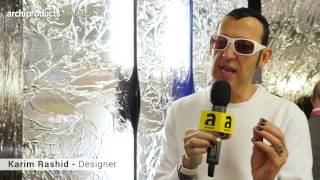 Fuorisalone 2016 | FONTANAARTE - Giorgio Biscaro, Karim Rashid, Odo Fioravanti