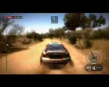 Colin McRae: DIRT videogame gameplay trailer 2