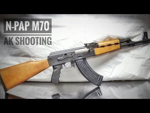 Shooting the Zastava N-PAP M70 Gen II AK-47