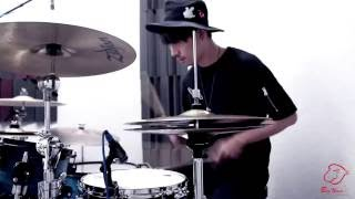 "Against the Current - ""Running With the Wild Things"" 爵士鼓 鼓譜分享 Drum Cover by Louis"